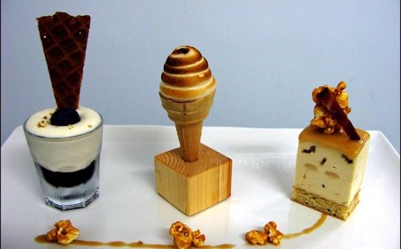 • Moi qui voulais arrêter les desserts, aujourd'hui c'est raté !