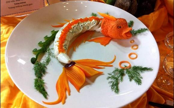 Visions gourmandes visions gourmandes l 39 art de pr senter une assiette - Decoration d assiette gastronomique ...