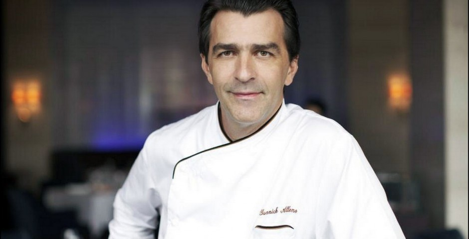 Chef Yannick Alléno <br> Photo Nicolas Buisson
