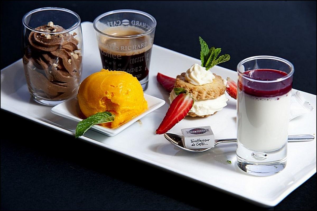 Visions gourmandes caf gourmand - Assiette rectangulaire pour cafe gourmand ...